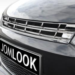 Kühlergrill ohne Emblem, komplett Chrom passend für VW Polo 5 (6R)