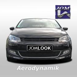 Kühlergrill ohne Emblem, Schwarz passend für VW Polo 5 (6R)