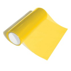 Universal styling foil translucent yellow, 0,30 x 10 m