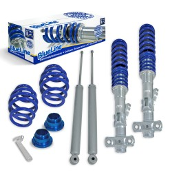 JOM Kit suspension combiné fileté BlueLine BMW E36 4+6 cylindres incl. Touring 6.92-00 Amortisseurs filetés / Ressorts