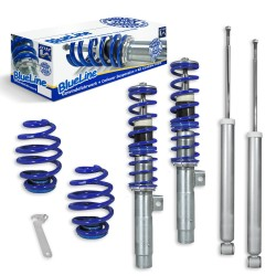 BlueLine Coilover Kit suitable for BMW E46 4 and 6 cylinder, incl. Touring year 1998-2005