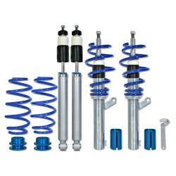 BlueLine Gewindefahrwerk passend für Audi A3 (8P) Sportback und Cabrio 1.4TFSi, 1.6, 1.8TFSi, 2.0, 2.0T / DSG und 1.9TDi