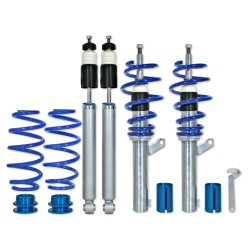 BlueLine Coilover Kit suitable for VW Golf 6 1.4, 1.4 TSi, 1.6, 2.0, 2.0T / DSG, 1.9TDi except vehicles with four-wheel drive