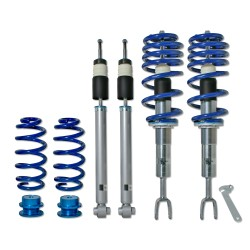 BlueLine Coilover Kit suitable for Audi A4 B6 and B7 (8e) Avant and Cabrio Quattro 1.8T, 1.9TDi, 2.5TDi, 3.0, 3.0TDi, 3.2 FSI, except vehicles with height control or sport-equipment