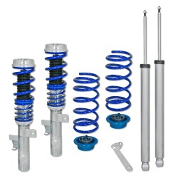 BlueLine Coilover Kit suitable for Volvo S40 T5 2.5, D5 2.4, year 2004-2012, except vehicles with four-wheel drive ( AWD )