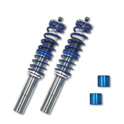 BlueLine Gewindefahrwerk passend für BMW E39 Touring 520i, 523i, 525i, 528i, 530i, 520D, 525D / TD / TDS, 530D, Baujahr 1997 - 2003, außer Fahrzeuge mit Niveauregulierung
