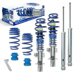 BlueLine Coilover Kit suitable for Seat Ibiza and Cordoba type (6L) 1.2, 1.4, 1.4 TDi, 1.9SDi, 1.9TDi  year 2002 - 2008