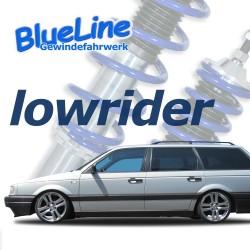 BlueLine Gewindefahrwerk passend für VW Passat 35i Limo und Variant 1.6, 1.8, 2.0, 2.0 16V, 1.6TD, 1.9D, VR6 Baujahr 09.1987 - 02.1997