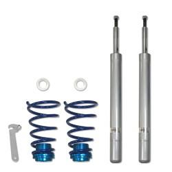 JOM BlueLine Gewindefahrwerk passend für BMW E34 Touring 524TD, 530i, 520D, 525D / TD / TDS, 530D (D16/M14) Baujahr 1991 - 1996