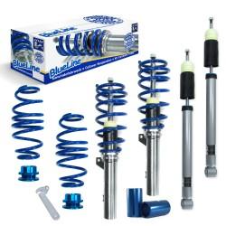 JOM BlueLine Gewindefahrwerk passend für Skoda Octavia Limo und Kombi (5E) 1.2 TSI, 1.4 TSI ab Baujahr 2012 nur passend bei Fahrzeugen mit Verbundlenker