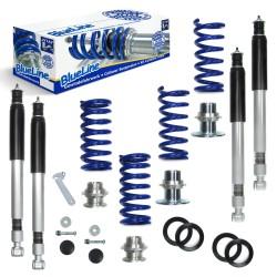 Kit suspension combiné fileté BlueLine Chrysler Crossfire, 3.2 / SRT-6, 2003 - 2007, Amortisseurs filetés / Ressorts - Qualité Allemande.
