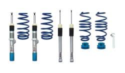 BlueLine Gewindefahrwerk passend für VW Golf 7 Limousine und Sportsvan (AU/AUV) 1.6 TDI, 1.8 TSI, 2.0 TDI ab Baujahr 2012-, nur passend bei Fahrzeugen mit Verbundlenker