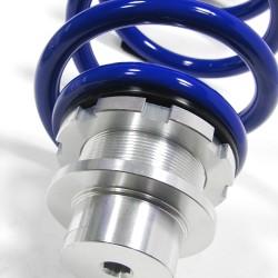BlueLine Gewindefahrwerk Sportfahrwerk Tieferlegung für A6  4G passend für   A6 Limo (4G) 1.8 TFSI/ 2.0 TFSI 132 KW/ 2.0 TFSI 185 KW Quattro/ 2.8 FSI 150 KW Quattro/ 2.0 TDI 110 KW/ 2.0 TDI 140 KW, 2011-2018