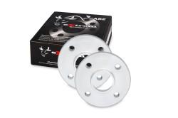 Spurverbreiterung, NJT eXtrem SportSpacer, 30mm 4/100, NLB 56,6 mm, mit Zentrierung passend für Opel