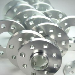 Spurverbreiterung Set 20mm inkl. Radschrauben passend für Saab 9.3 inkl.Cabrio (YS3FXXXX,YS3F,YS3DXXXX,YS3F C)