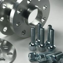 Spurverbreiterung Set 20mm inkl. Radschrauben passend für VW Golf,Jetta II (19E,19EL,1,9e-298)