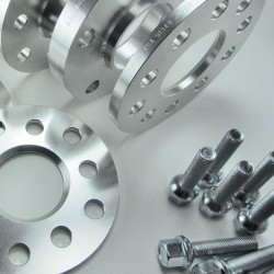Spurverbreiterung Set 10mm inkl. Radschrauben passend für VW Phaeton (3D)