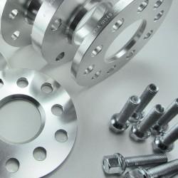 Spurverbreiterung Set 20mm inkl. Radschrauben passend für Audi 100 (44/44Q), 200 (44/44Q)
