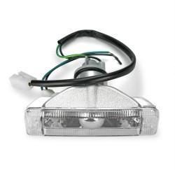 Frontblinker, Blinker, mit integriertem Standlicht, Klarglas / chrom passend für VW Golf bis Baujahr -07.1989