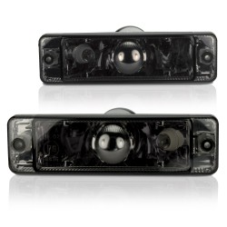 Frontblinker, Blinker, mit Standlichtfunktion, Klarglas / schwarz passend für VW Golf und Jetta bis Baujahr -07/89