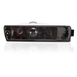 Frontblinker, Blinker, mit Standlichtfunktion, Klarglas / schwarz passend für  VW Golf 2 (19E, 1G1) Baujahr 09.1989-12.1992