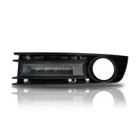 LED Tagfahrlicht,fahrzeugspezifischer Einbausatz, smoked, 5  LED  (für Fahrzeuge mit Nebelscheinwerfer) passend für Audi A4 (8E) 00-04