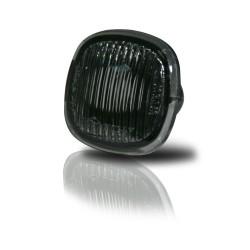 Seitenblinker, Streuglas / schwarz passend für Audi A3 (8L - 2000), A4, A8