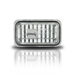 Seitenblinker, kristall / chrom passend für VW Golf 2 Bj. -8/92 , Polo Bj. -94 , Audi 80/90/100/200/V8