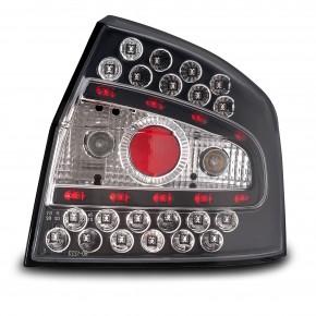 Rückleuchten, LED, klar / schwarz passend für Audi A4 B6 Bj. 01-04