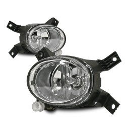 Nebelscheinwerfer, Audi, passend für Stoßstange 8L0807103S, Klarglas / chrom