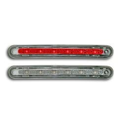 LED Zusatzbremsleuchte mit 6 Leuchtdioden, Klarglas