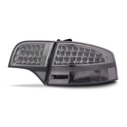 LED Rückleuchten Klarglas schwarz passend für Audi A4 B7 Limo Bj. 04-08