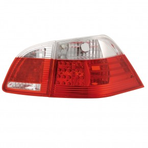 LED Rückleuchten chrom-rot passend für BMW 5er E61 Touring  Bj. 04-07