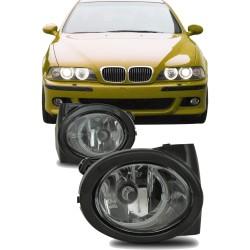 Nebelscheinwerfer Klarglas mit Rahmen passend für BMW E46  M3 Baujahr 1998- 2007 und E39 M5 Baujahr 1998-2005