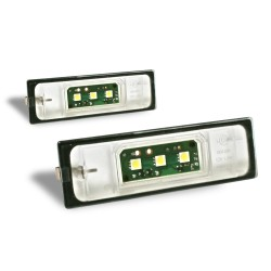 Licence plate LED bulbs, 2 pieces, 1-series  E81, E87, E87N, E85, E86 / 6-series E63, E63N, E64 (M6), E64N