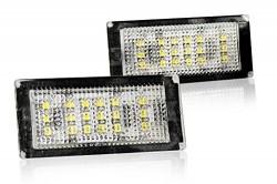LED Kennzeichenbeleuchtung, 3 SMD LED pro Seite, 2 Stück, inkl. E-Prüfzeichen passend für E46 2 Türig Bj. 04-06