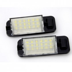 LED Kennzeichenbeleuchtung, 2 St., mit E-Prüfzeichen passend für E36  Bj. 92-98