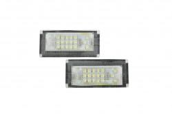 LED Kennzeichen Beleuchtung, Power-LEDs, inkl. E-Prüfzeichen passend für Mini Cooper R50 Bj. 02-06, R52 (Convertible) Bj. 04-06, R53 (Coopers) Bj. (01-06)