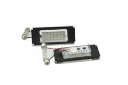 LED Kennzeichen Beleuchtung, Power-LEDs, inkl. E-Prüfzeichen passend für Mini Cooper R52 / R55 / R55N / R56 / R56N / R57 / R57N / R58 / R59