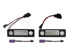 LED Kennzeichen Beleuchtung, Power-LEDs, inkl. E-Prüfzeichen passend für Skoda Octavia 1Z 04-13 / Roomster 06-13