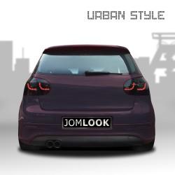 Feux arrière, LED, VW Golf 5 03-, Urban style two, noir