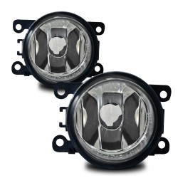 Nebelscheinwerfer Klarglas passend für verschiedene Opel, Citroen, Dacia, Ford, Mazda, Nissan, Peugeot, Porsche, Renault und Suzuki Modelle