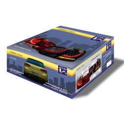 New Design LED Rückleuchten schwarz passend für VW Golf 6 Bj. 08-12