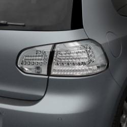 Urban Style LED Rückleuchten chrom passend für VW Golf 6 Bj. 08-12