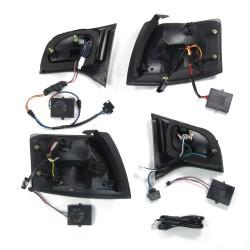 New Design LED Rückleuchten dunkelrot passend für Audi A4 Avant B7 Bj. 04-08