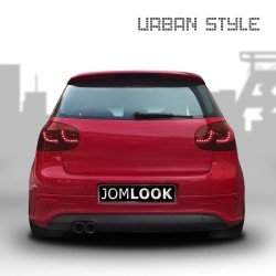 Urban Style LED rear lights dark red suitable for VW Golf 5 year 03-08