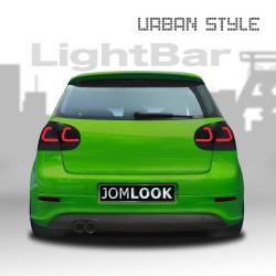 LED Rückleuchten mit Lightbar schwarz passend für VW Golf 5 Bj. 03-08