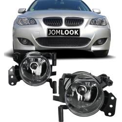 Nebelscheinwerfer Klarglas passend für 3er Cabrio E46 Bj.00 - 07, 3er Coupe E46 Bj. 00 - 06, 3er E90 Bj. 04 - 11, 3er Touring E91 Bj. 04 - 12, 5er E60 Bj. 01 - 10, 5er Touring E61 Bj. 04 - 10