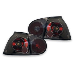 Rear lights clear glass black suitable for VW Golf 5 Limousine year 03 - 08 (except Golf Plus)