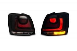 Rückleuchten Klarglas Schwarz passend für VW Polo 5 (6R) 2009-2014